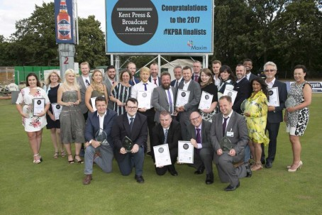 The winners at this year's awards