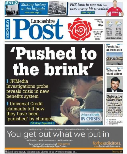 How the Lancashire Post covered the investigation