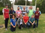 Daily staff hold World Cup fundraiser for charity set up by colleague
