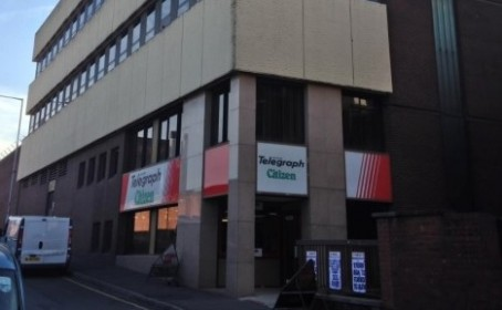 The Telegraph's office on High Street, Blackburn
