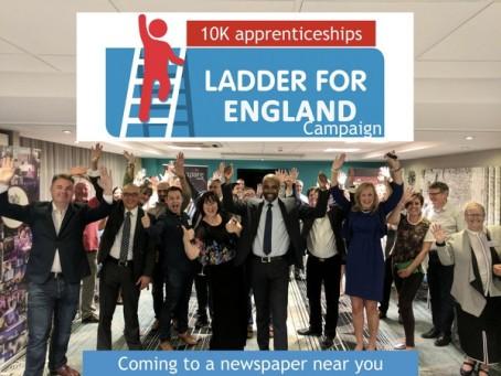Ladder for England