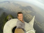 Photographer bids to take picture on top of Christ statue
