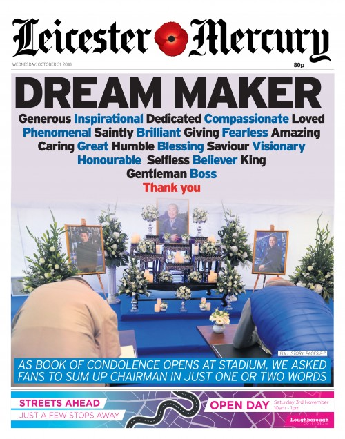 Leicester Mercury - DREAM MAKER