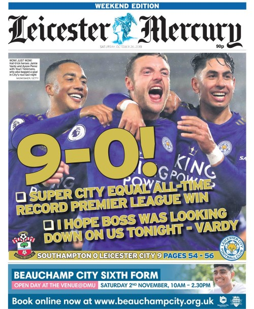 Leicester record