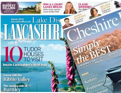 Both Lancashire Life and Cheshire Life saw modest increases in circulation
