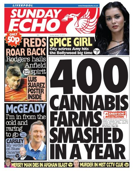 Liverpool Echo Sunday front