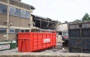 Demolition work at Lower Brook Street