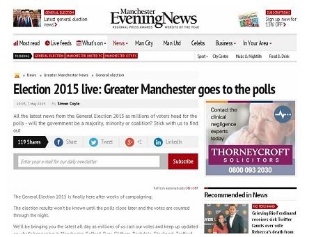 MEN election coverage