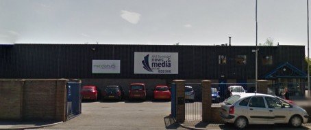 The currents Mid Somerset News and Media office in Wells which is closing.