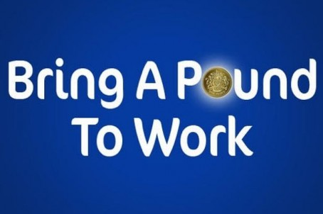 The logo of the Bring a Pound to Work appeal