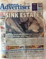 Maidenhead Advertiser page one