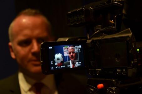 Mal Robinson faces the cameras