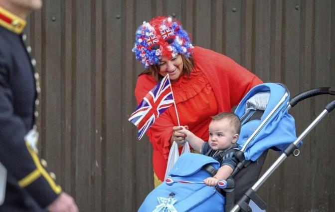 Mal McCann's photo 'Drool Britannia' won him the features category