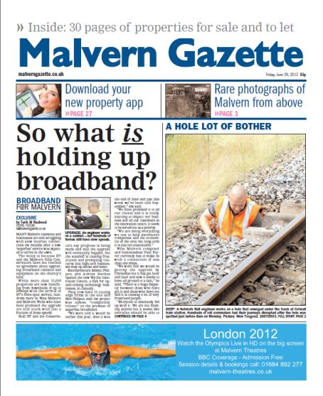 the malvern gazette