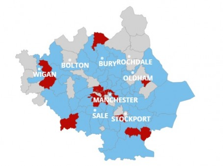MEN survey aims to map where Manchester City and United fans live ...