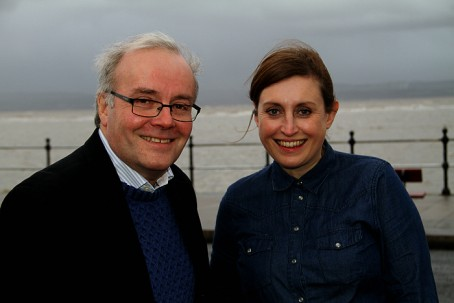Mark Thomas and Emma Gunby, co-editors of West Kirby Today