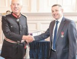 Ex-editor receives British Empire Medal for services to newspapers