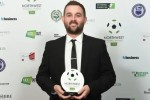 Football reporter dedicates award to England legend
