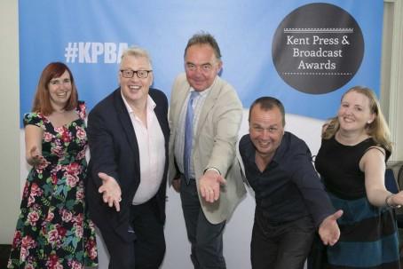 From left: Maxim's Erica Jones, Andrew Metcalf, Philip Jones, Andy Rayfield and Rachel Knight