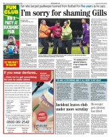 The Medway Messenger dedicated a full page to the court case after crime reporter Lynn Cox successfully applied for the automatic ban on naming a youth to be lifted