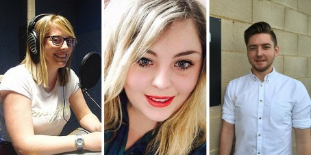 Student trio land jobs before graduation after course work experience