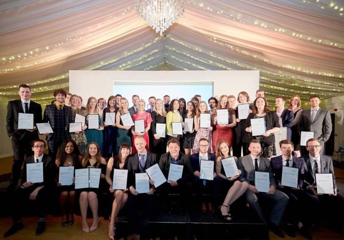 The winners at last year's awards ceremony
