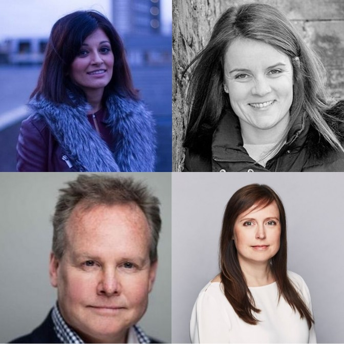 Clockwise from top left: Jas Nijjar, Jo Webster, Abbie Scott and Neil O'Brien