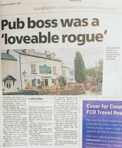 NWEM pub obit