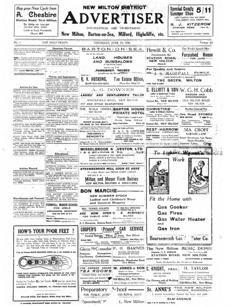 The paper as it first appeared back in 1928