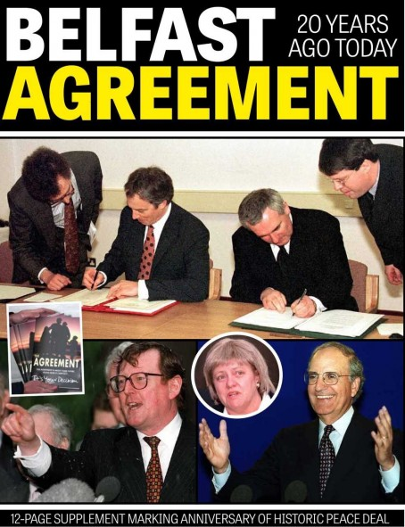 Northern Ireland Dailies Mark 20 Years Since Good Friday Agreement