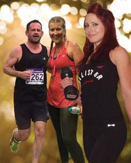 From left: NEwsquest North London's Adam Thorpe, Sarah Anderson and Victoria Birch