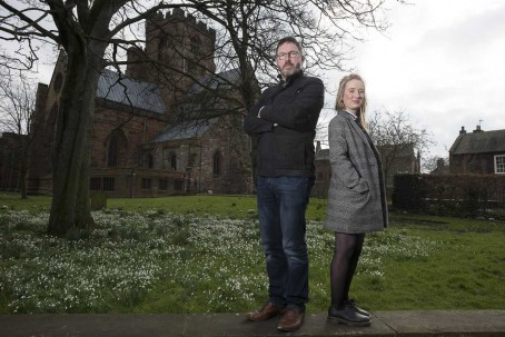Nick Turner, left, and Helen Statham