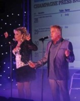 Bucks Fizz entertained guests at the Norfolk and Norwich Press Ball