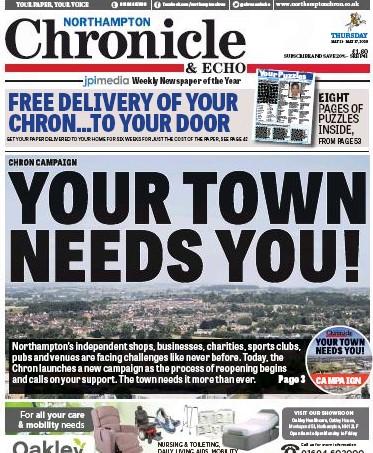 Last week's Chronicle & Echo