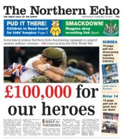 Northern Echo front