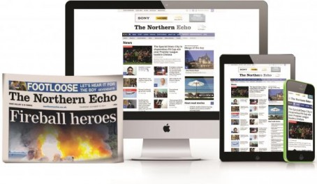 Northern Echo paywall