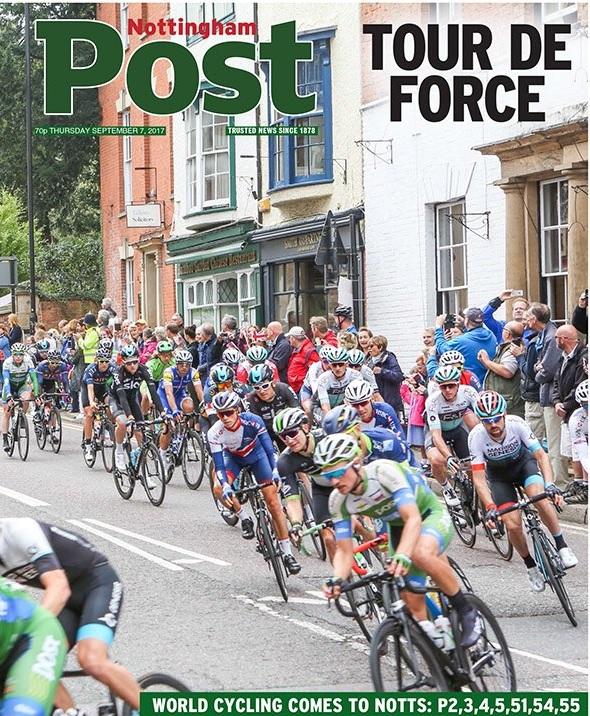Notts bike front