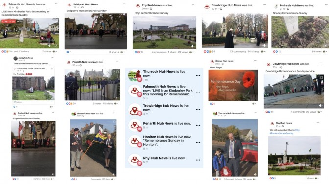 How Nub News covered Remembrance Sunday