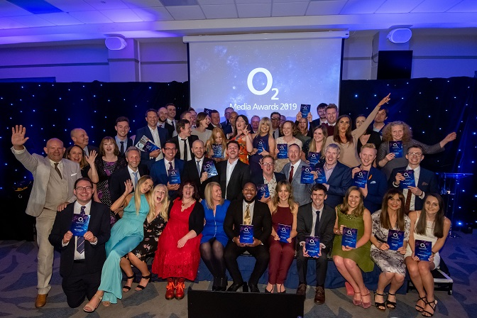 All the winners from the O2 Media Awards for Yorkshire and The Humber 2019