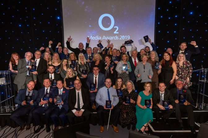 The winners at last year's awards in the North-West