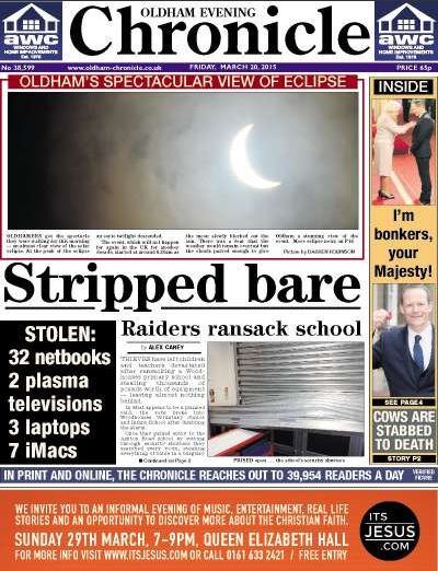 Oldham eclipse