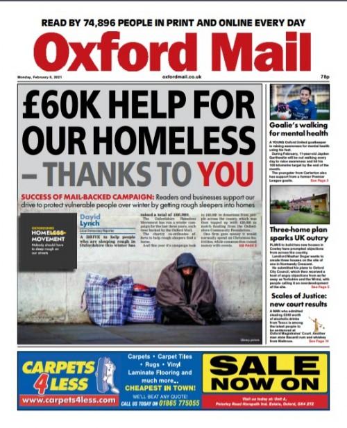 Oxford homeless