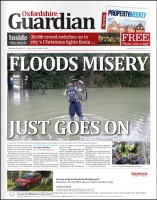 The Oxfordshire Guardian is among the titles which have been saved from the threat of closure