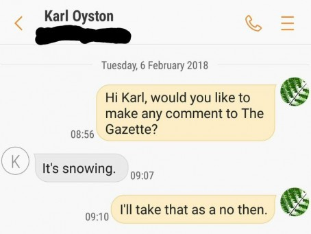 Oyston texts