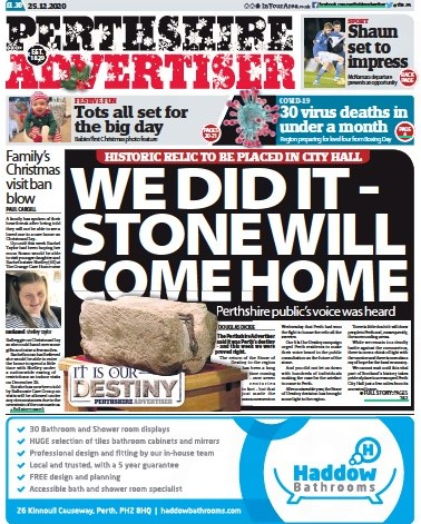 The news provided a splash for the Advertiser