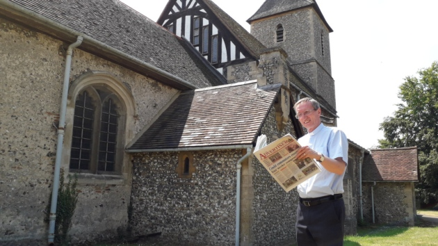 Journalist and PR man turned Church of England vicar Peter Crumpler who has backed the report's findings