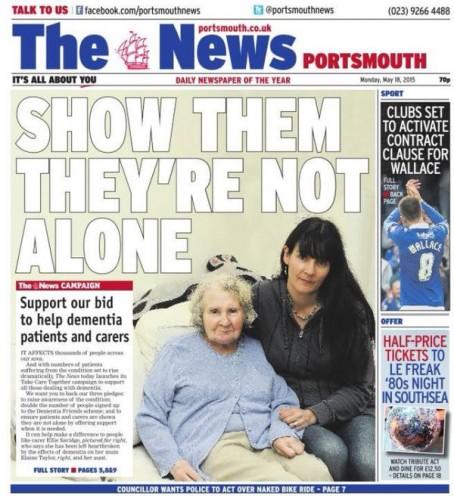 Portsmouth dementia