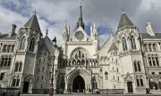 The Royal Courts of Justice in the Strand in London UK. Image shot 2014. Exact date unknown.