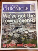 Reading Chronicle tow covered