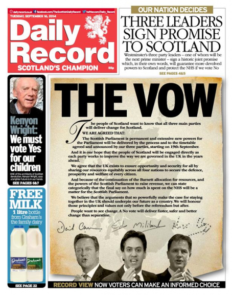 Record Vow